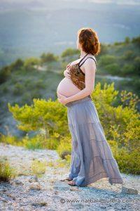 Séance photo Maternité/Grossesse en Extérieur dans les Bouches du Rhône