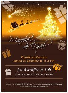 Marché de Noël de Peyrolles en Provence