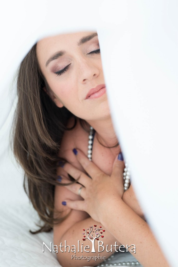 Séance photo boudoir