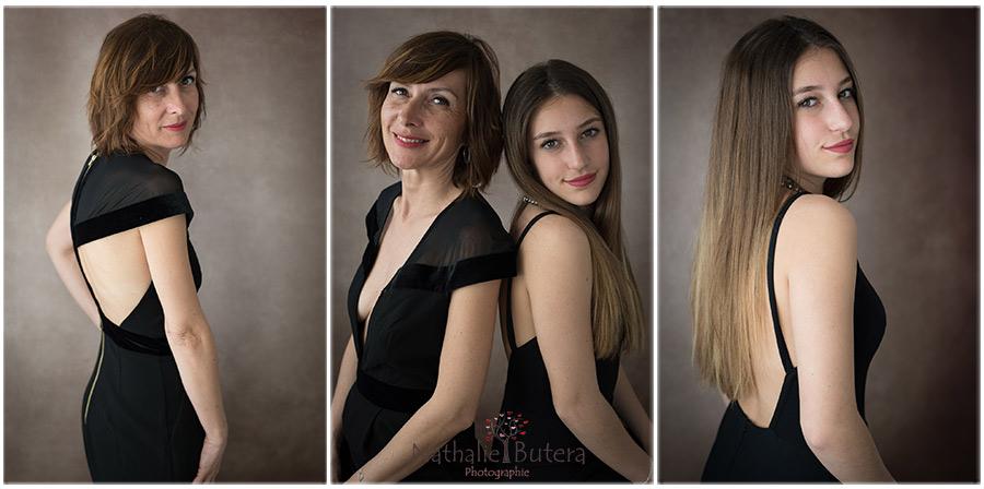 Portrait Famille Mère Fille