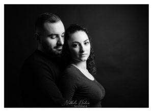 Séance photo Couple au Studio